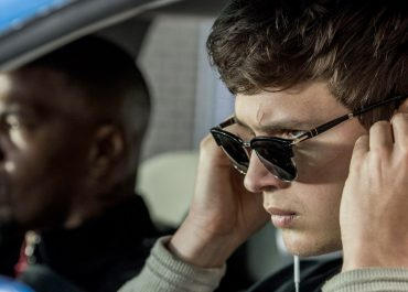 Ansel Elgort and Jamie Foxx in Baby Driver
