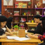 Art for peace sketching workshop buku-buku kafe sm southmall