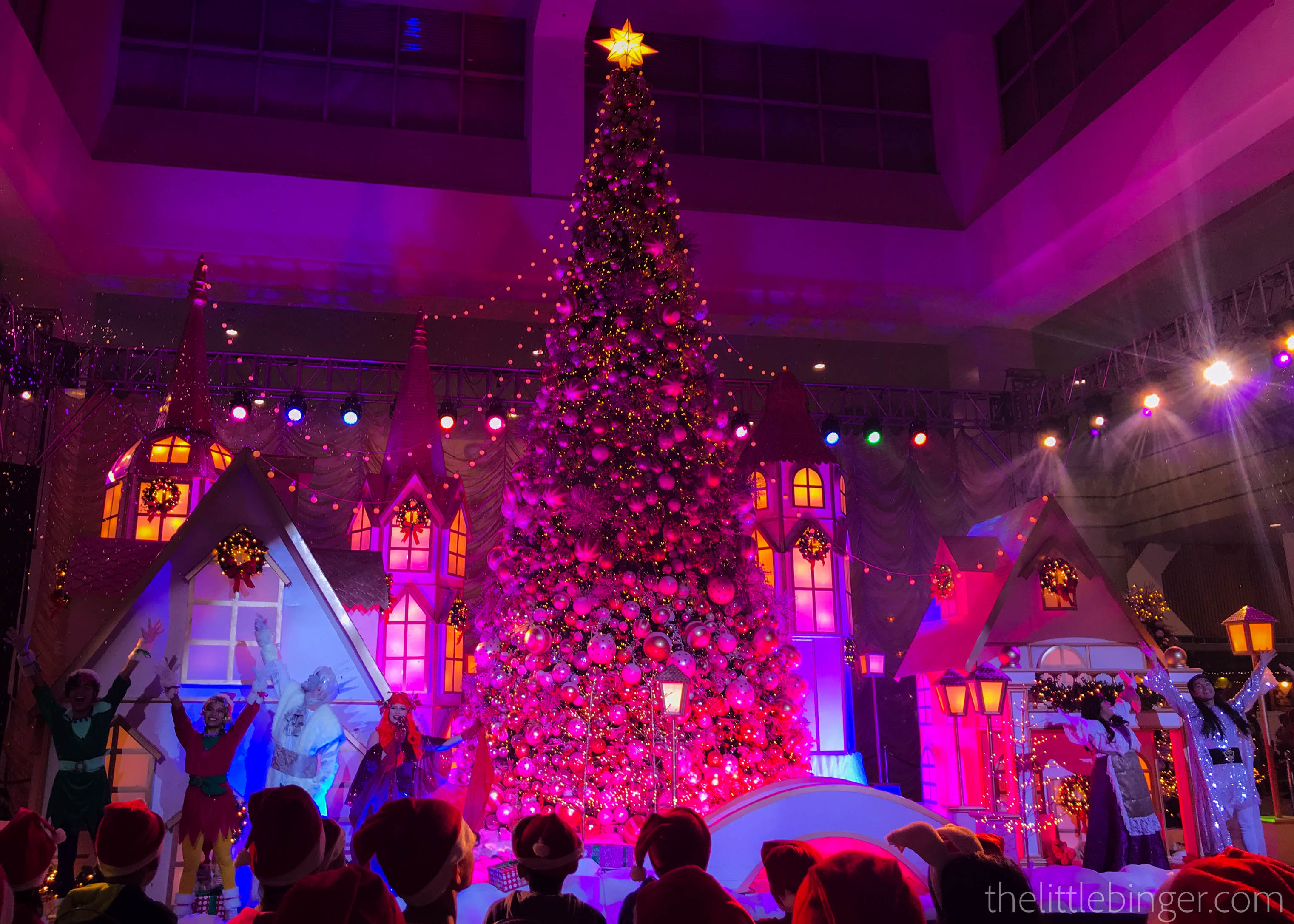 Colors are everywhere. | Christmas Town at SM Southmall
