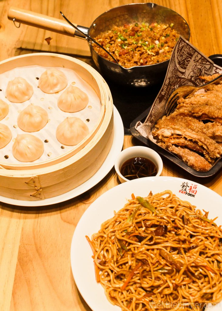 It was a feast at Fat Fook!