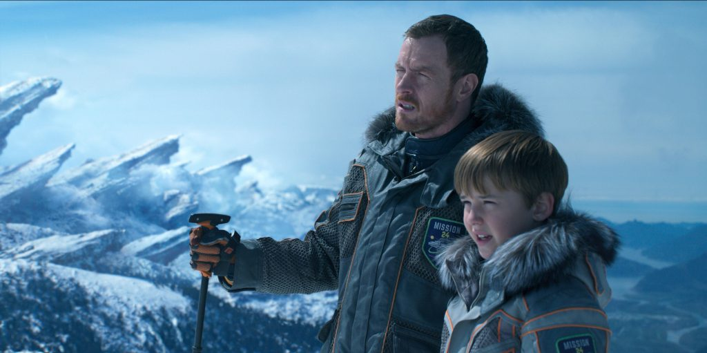 A father and son tale develops in Lost in Space. | Credit: Netflix