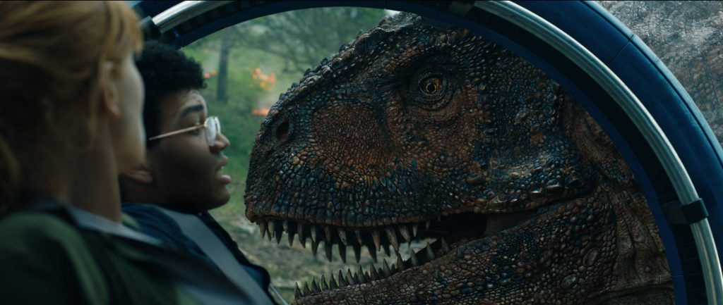 The dinosaurs received a glow-up in Jurassic World: Fallen Kingdom.