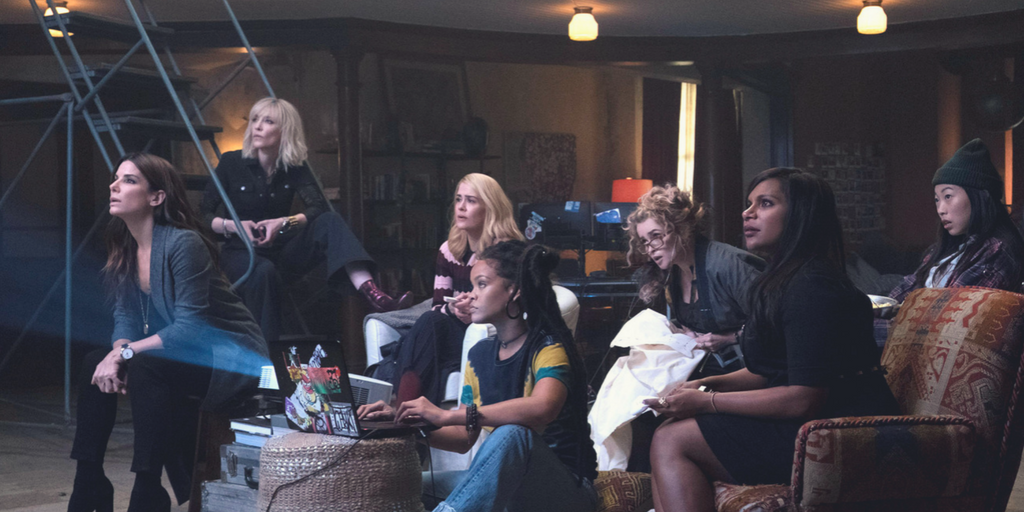 It's female power in Ocean's 8! | Credit: Warner Bros. Pictures