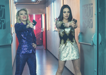 """Kate McKinnon as """"Morgan"""" and Mila Kunis as """"Aubrey"""" in THE SPY WHO DUMPED ME. 