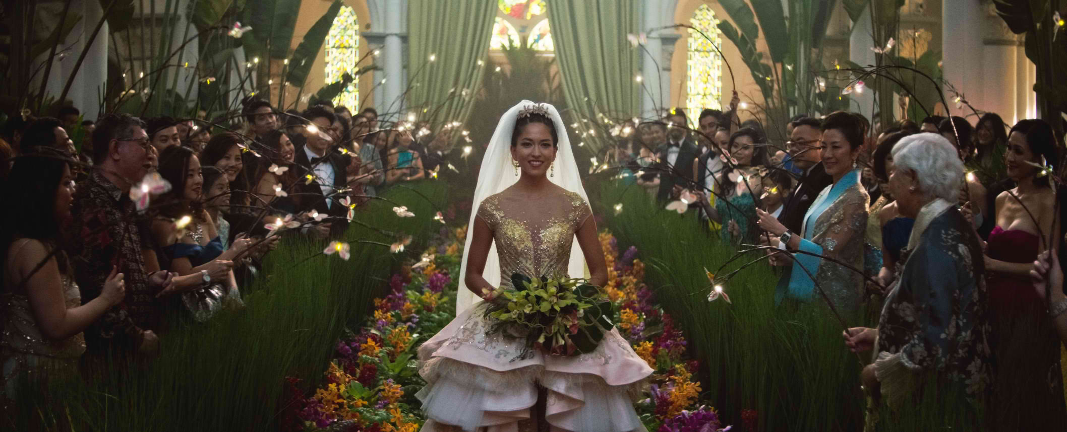 Discover the heart underneath the glamour in Crazy Rich Asians | Credit: Warner Bros. Pictures