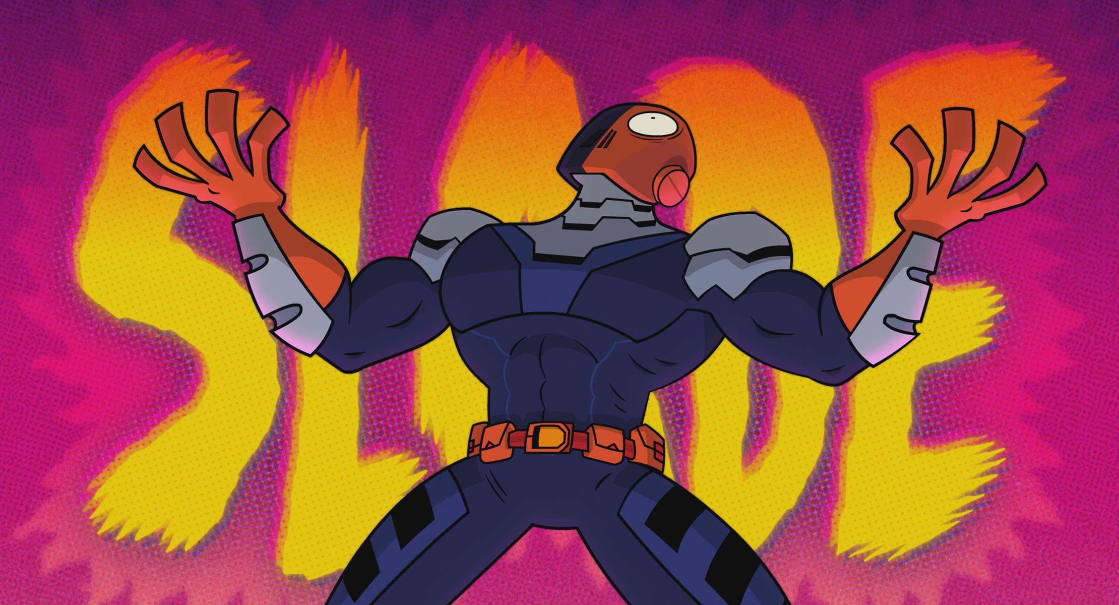 His name is Slade!!!   Credit: Warner Bros. Pictures