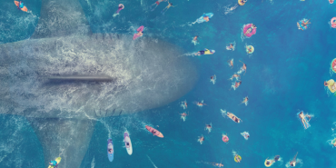The Meg Chomps on the Crazies | Credit: Warner Bros Pictures