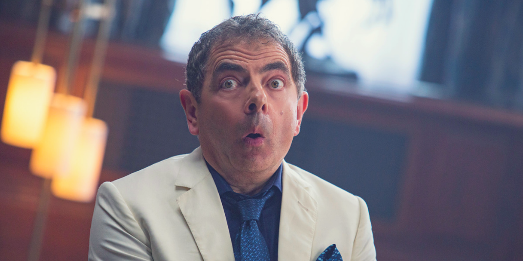 Rowan Atkinson stars as Johnny English in JOHNNY ENGLISH STRIKES AGAIN. | Credit: United International Pictures