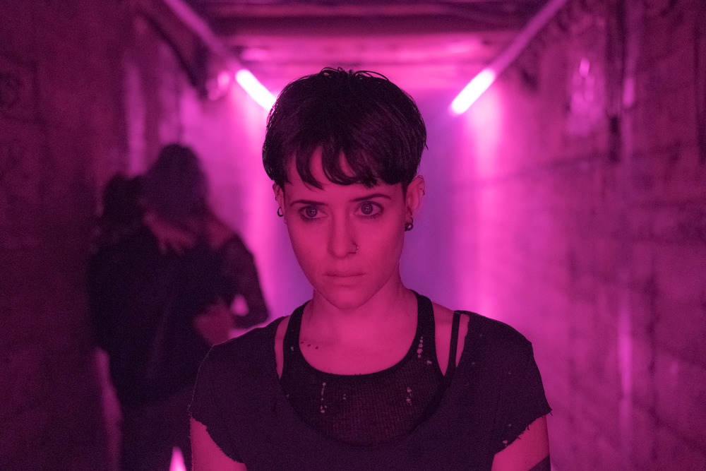 Lisbeth Salander (Claire Foy) in THE GIRL IN THE SPIDER'S WEB. | The Little Binger | Credit: Columbia Pictures