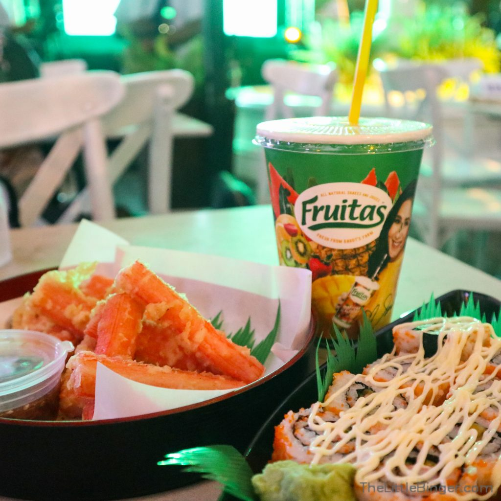 Snacks from Le Village are perfect when paired with a Fruitas Shake!   The Little Binger