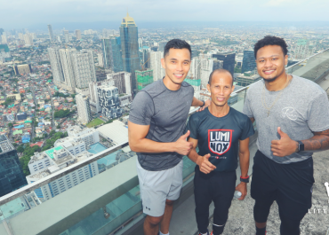 Michael Montes, Director of Recreation and Kerry Sports; Filipino record holder Andrico Mahilum; and basketball player Bobby Ray Parks Jr.   The Little Binger
