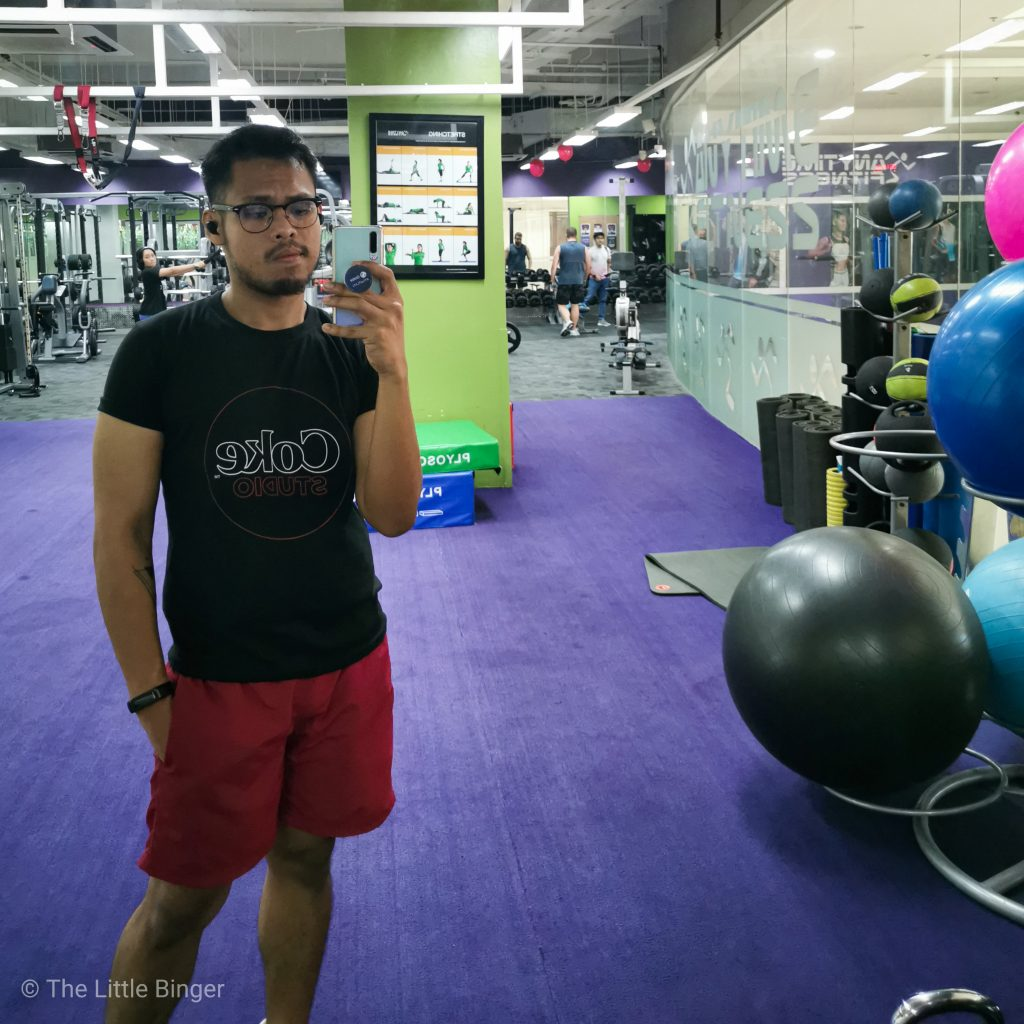 My daily gym visits are now made more exciting with Huawei Band 4.   The Little Binger