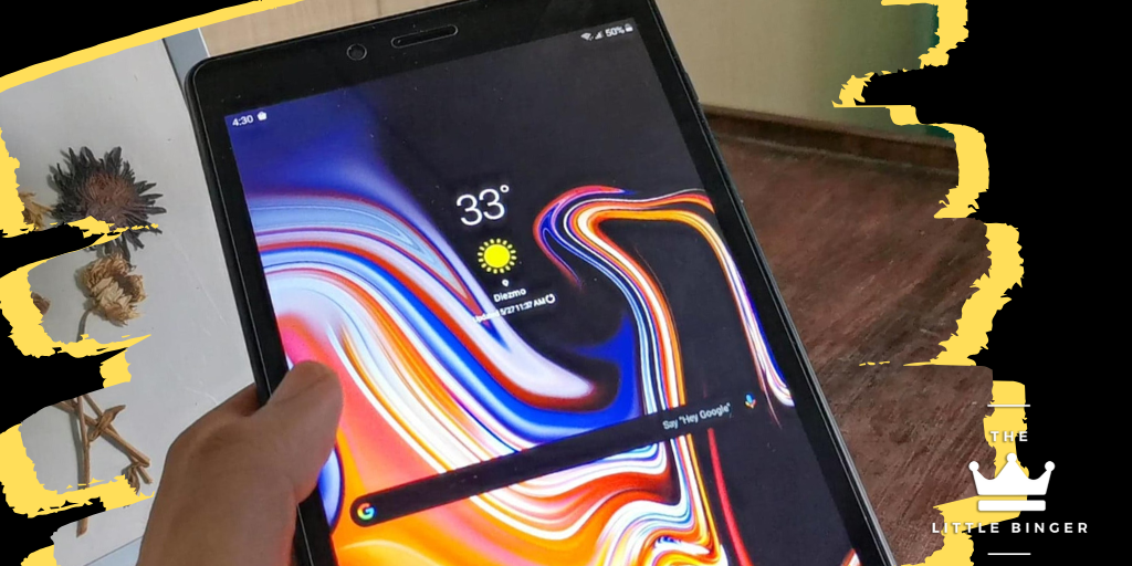 REVIEW: Samsung Galaxy Tab A 8.0 - Tablet on A Budget   The Little Binger