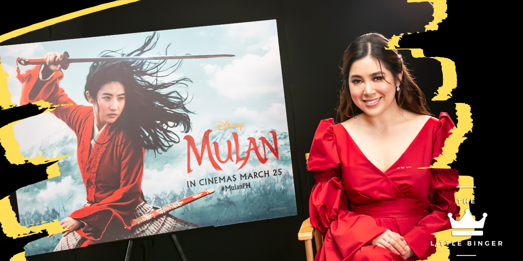 Moira Dela Torre sings the local version of Reflection from Mulan.   The Little Binger   Credit: Walt Disney Philippines