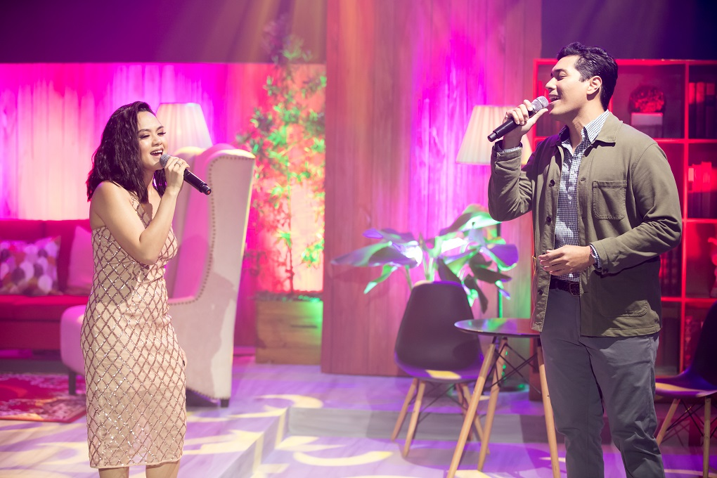 """Lara Maigue and Gian Magdangal performed a soulful rendition of """"I'll be There"""" 