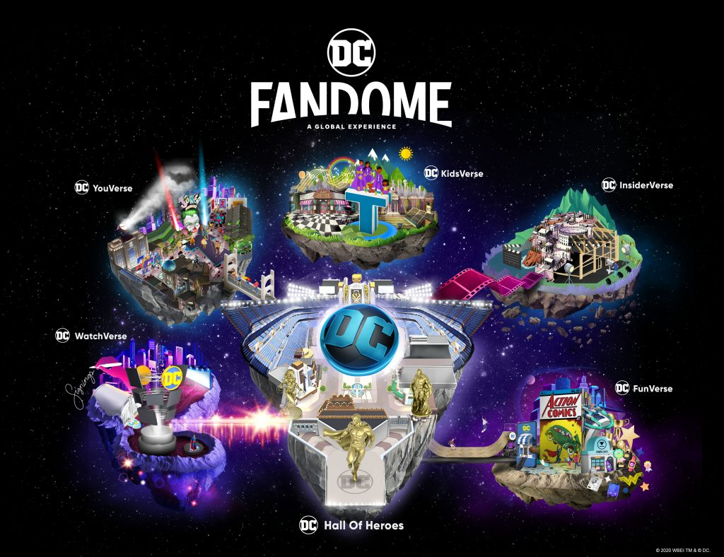 Get Ready for the DC FanDome Event!   The Little Binger