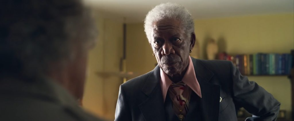 Catch Morgan Freeman in The Comeback Trail   LOOK: 'The Comeback Trail' is Action-Packed with De Niro, Freeman, and Jones   Credit: TBA Studios   The Little Binger