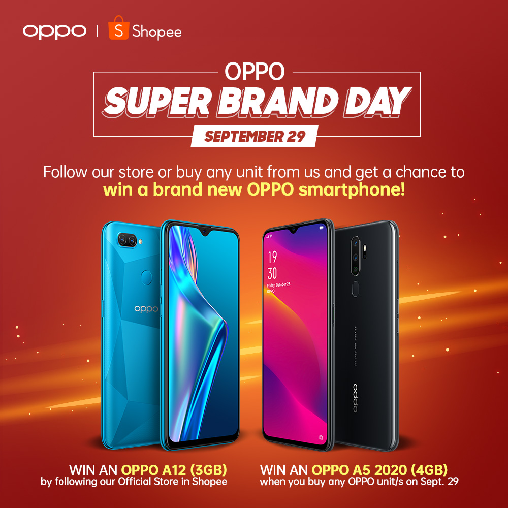 Get a chance to win a new OPPO phone.   LOOK: Up To 32% Off at OPPO Super Brand Day on Shopee!   The Little Binger