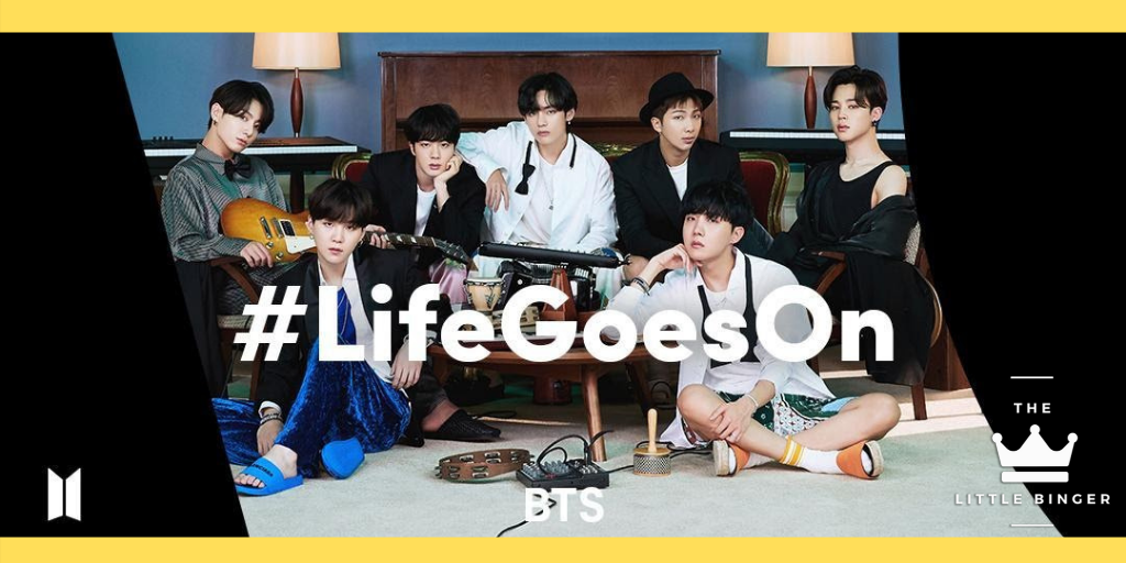 BTS Life Goes On TikTok | The Little Binger