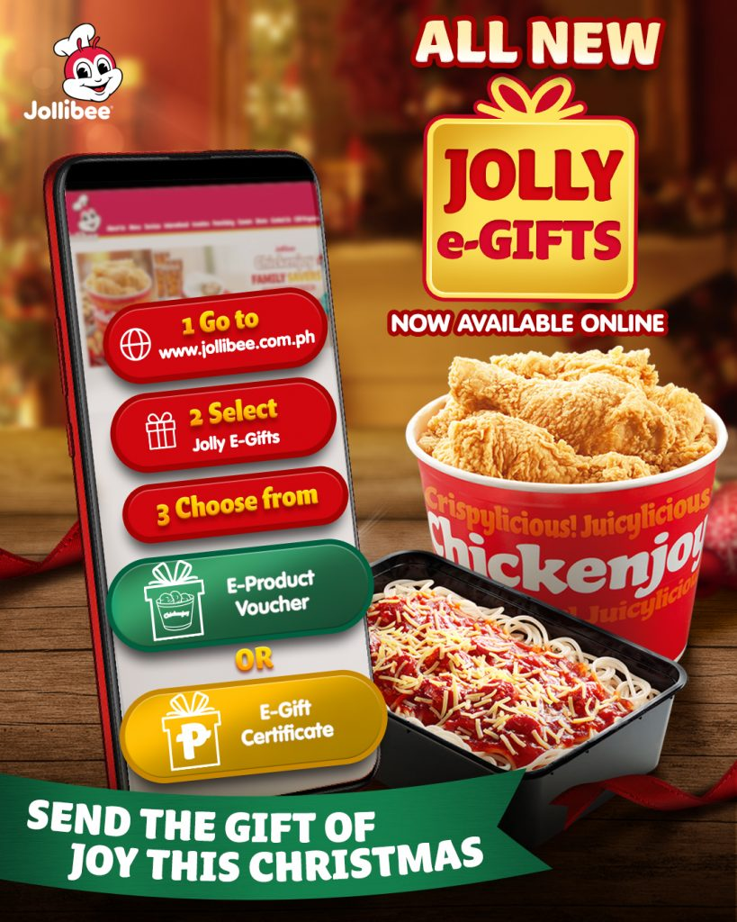 Jollibee Jolly e-Gifts: Give the Gift of Joy This Christmas