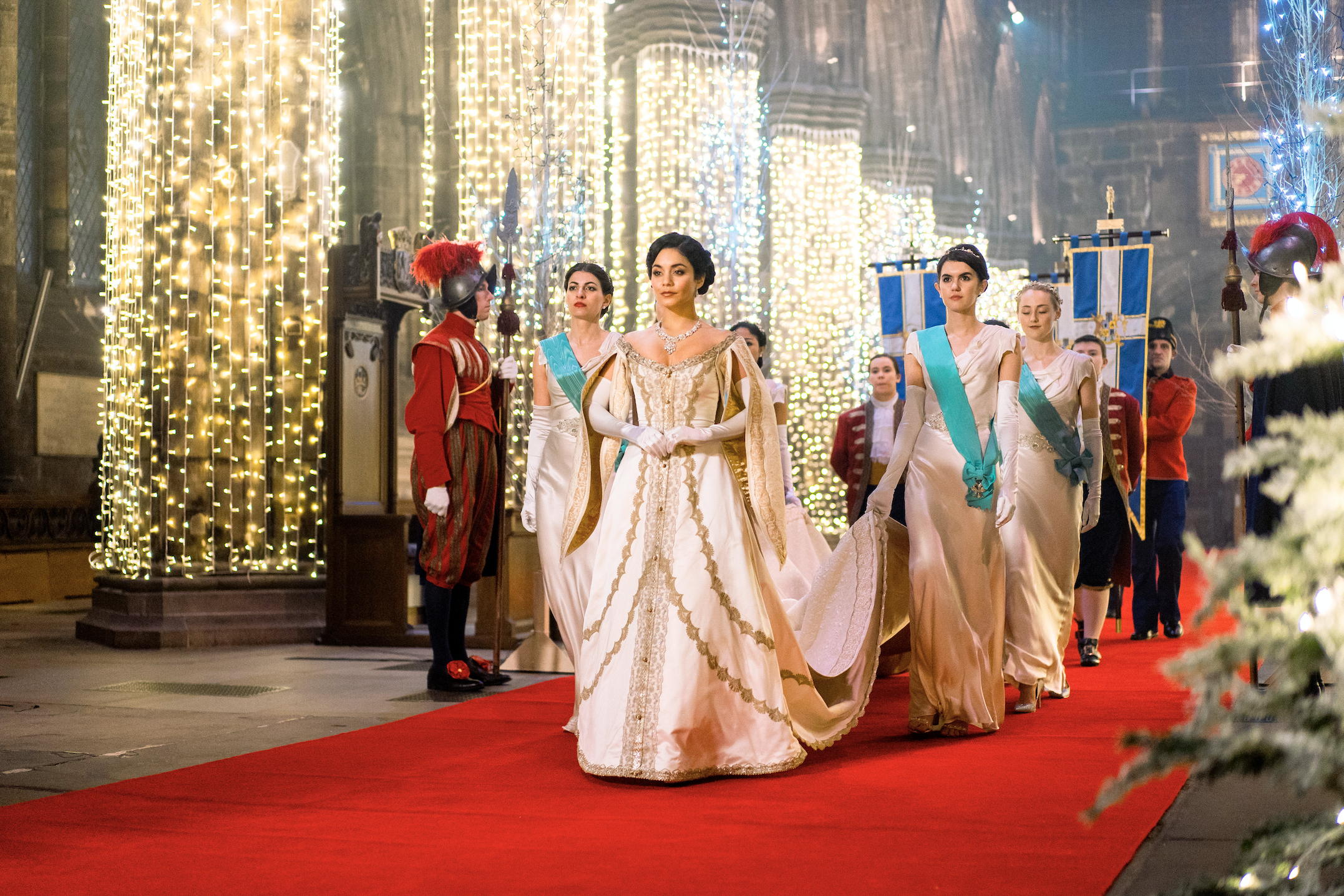 Vanessa Hudgens in The Princess Switch: Switched Again. Photo courtesy of Netflix   7 New Rules to Celebrate Christmas According to Netflix   The Little Binger