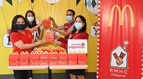 Donations made through Philippine Red Cross. | Make A Child Happy With Every McDonald's Happy Meal This Holiday | The Little Binger