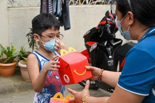 Distribution of books and toys to typhoon-affected areas | Make A Child Happy With Every McDonald's Happy Meal This Holiday | The Little Binger