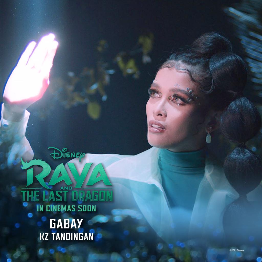 Gabay by KZ Tandingan for Disney Raya and the Last Dragon   The Little Binger   Credit: Disney