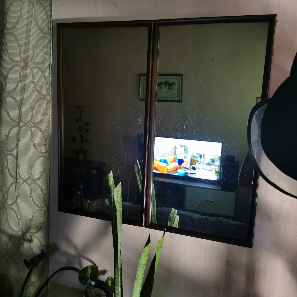 Mirror Wall by the entrance   4 Easy Steps To Make My DIY Mirror Wall   The Little Binger