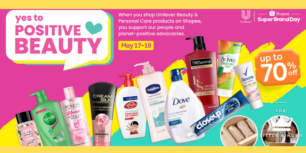 LOOK: Unilever Says Yes to Positive Beauty | The Little Binger
