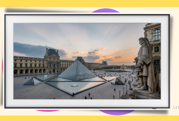 samsung the frame louvre